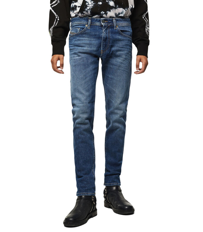 Jeans Thommer Slim Fit Hombre, AZUL, large