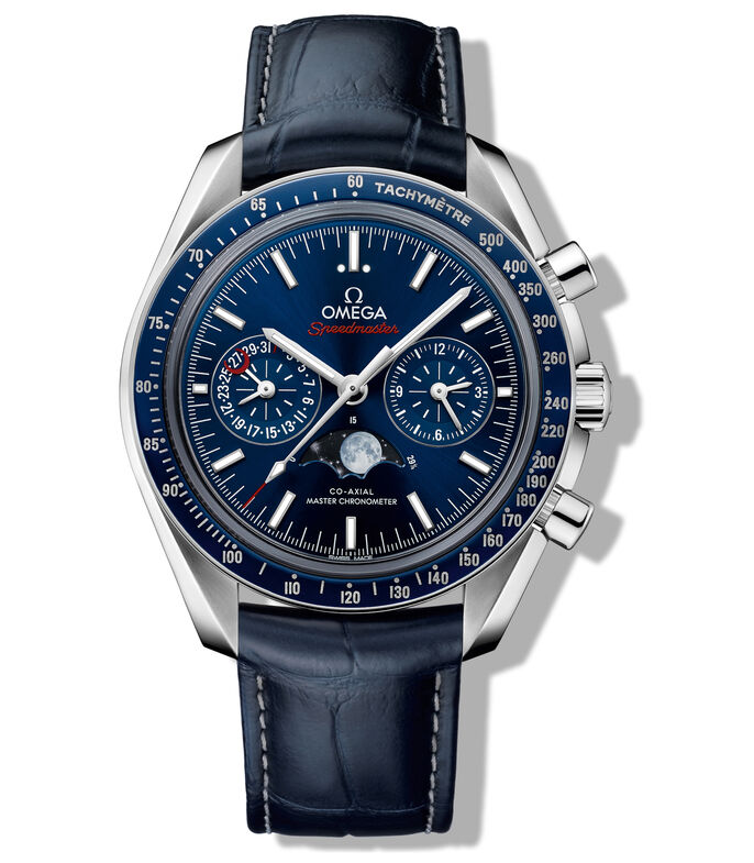 Reloj Speedmaster Moonwatch Moonphase Hombre, , large