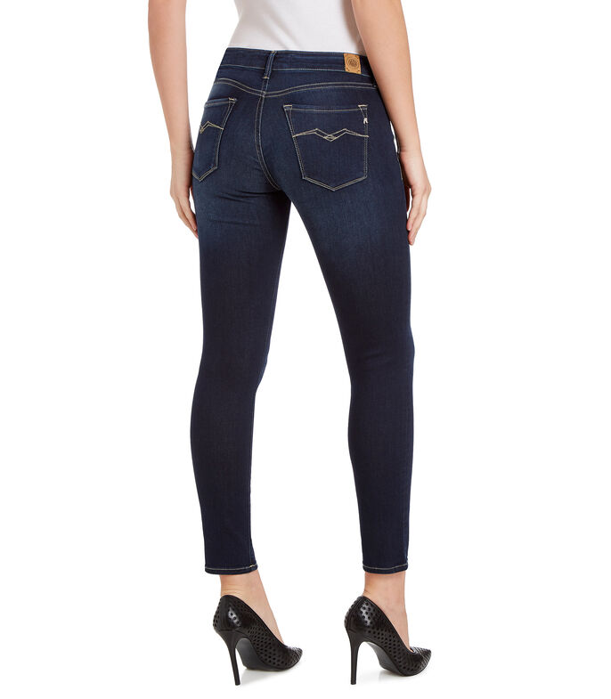 Replay Jeans Skinny Mujer, AZUL, large