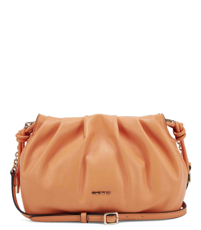 Nine West Bolso crossbody, NARANJA, large