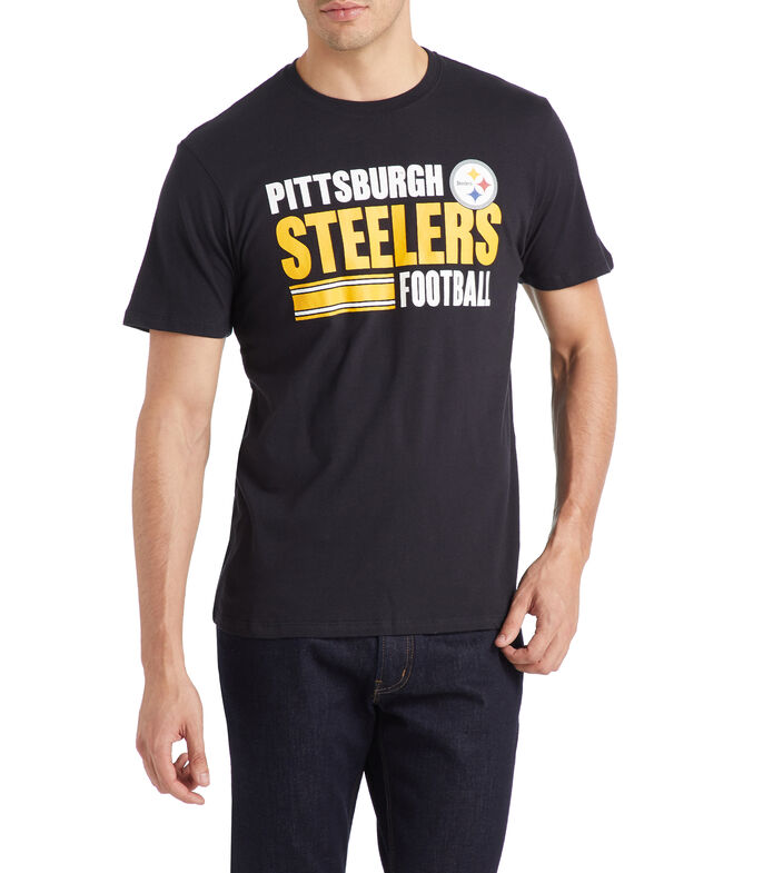 Playera Pittsburgh Steelers Hombre, NEGRO, large