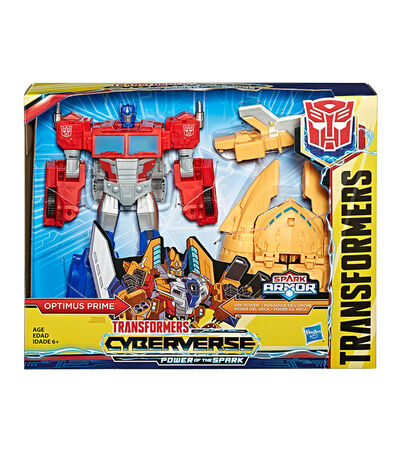 Transformers Cyberverse Power of the Spark Optimus Prime, , large