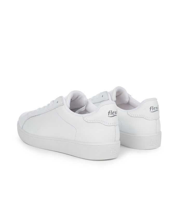 Flexi Tenis Casuales Mujer, BLANCO, large