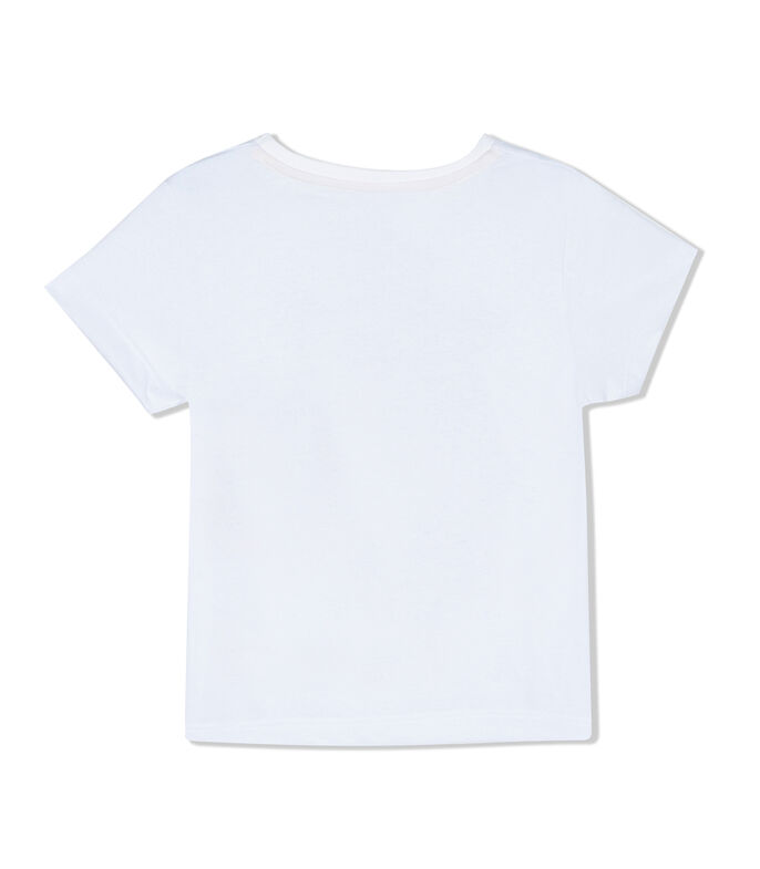 Playera con jirafa Nat Geo Kids Niño, BLANCO, large