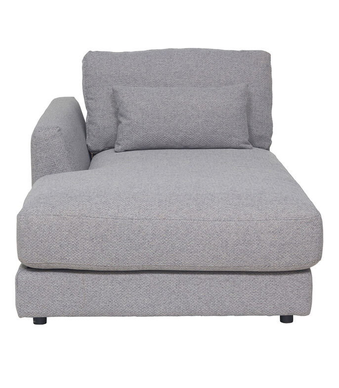 Chaise lounge Mark Izquierdo Gris, , large