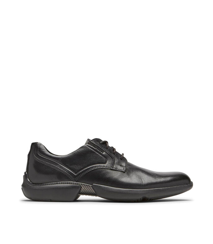 Zapatos casuales derby Hombre, NEGRO, large