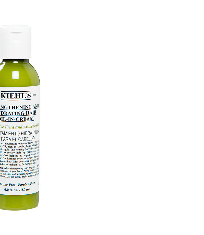 Kiehl's Strengthening and Hydrating Hair Oil in Cream, , editorial