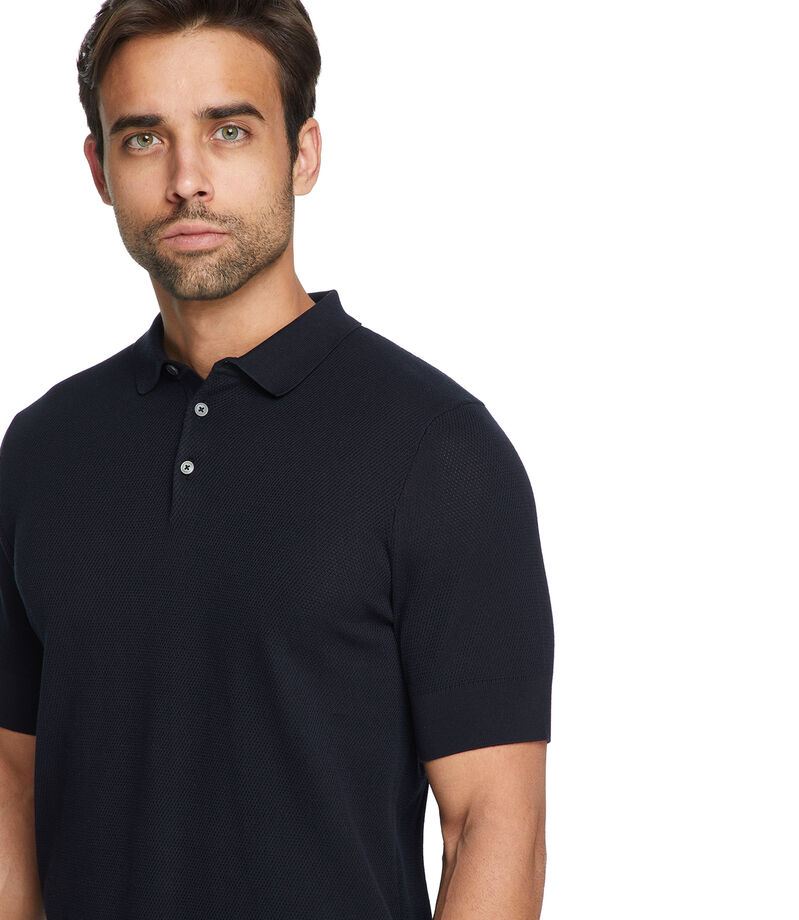 Playera Polo Hombre, NEGRO, editorial