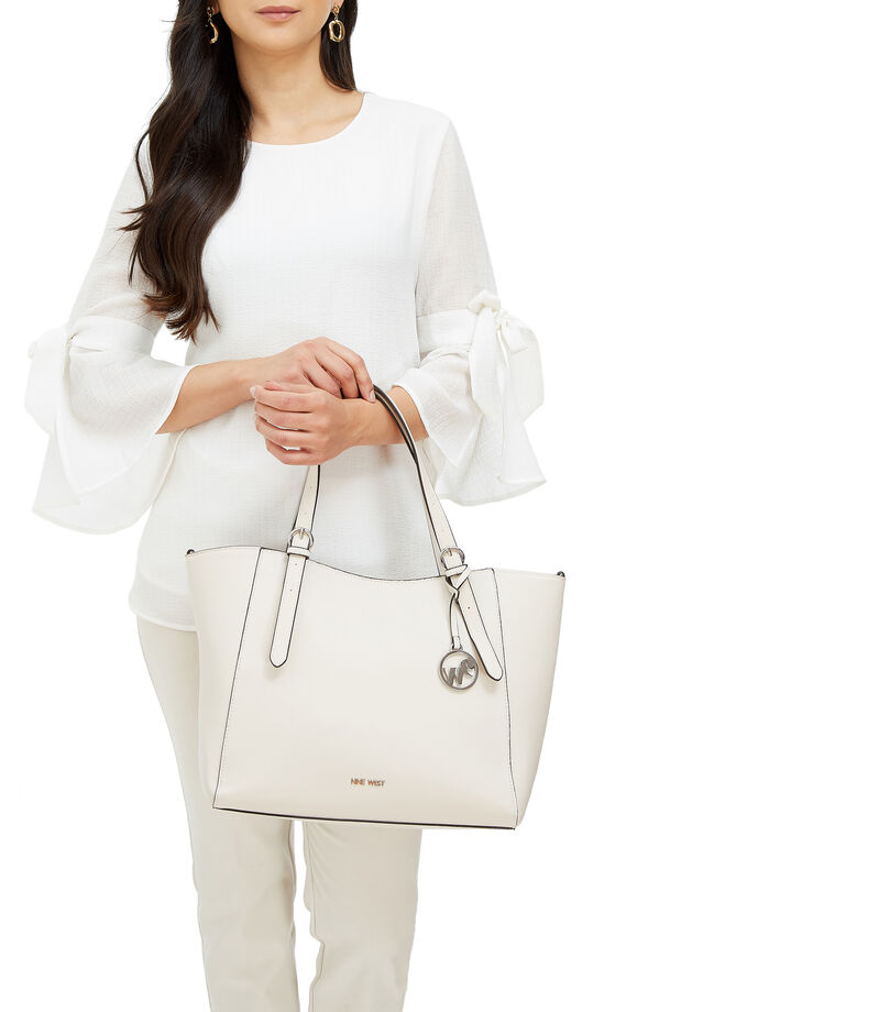 Nine West Bolso tote, MARFIL, editorial
