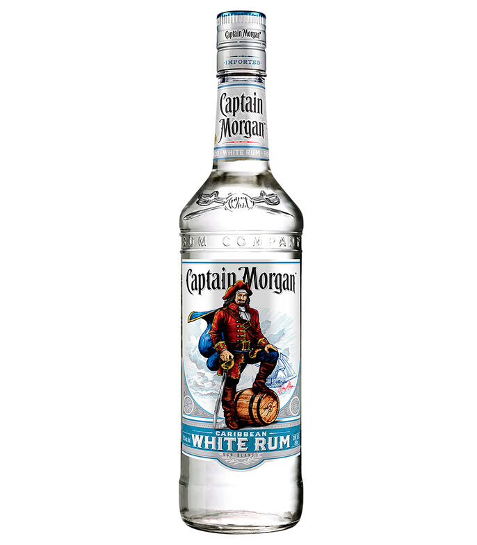 Ron Captain Morgan White Rum, 750 ml, , large