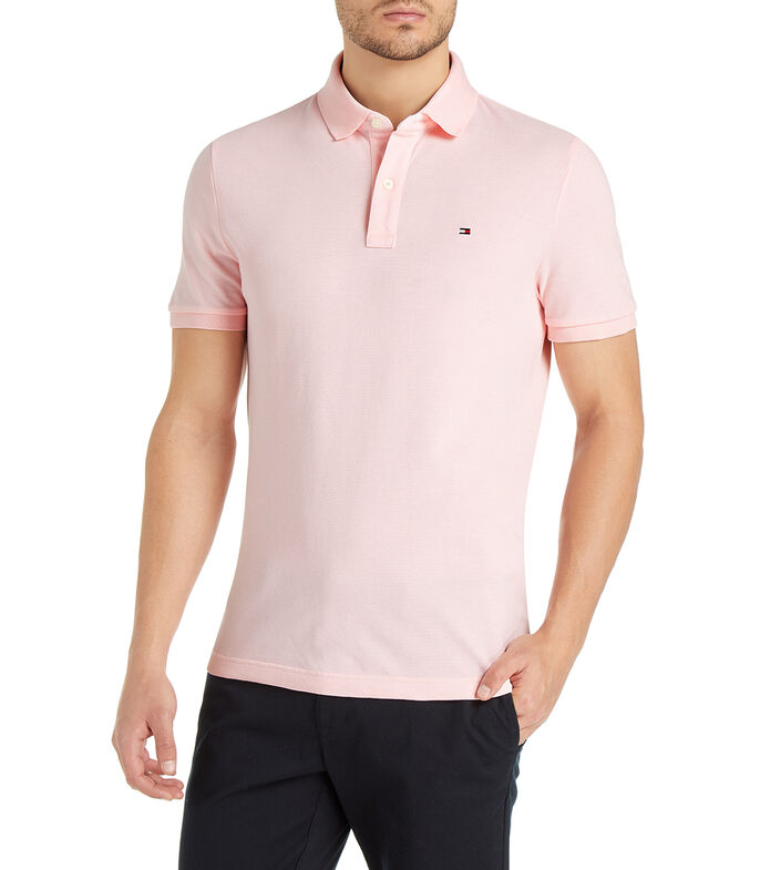 Tommy Hilfiger Playera Polo Hombre, ROSA, large