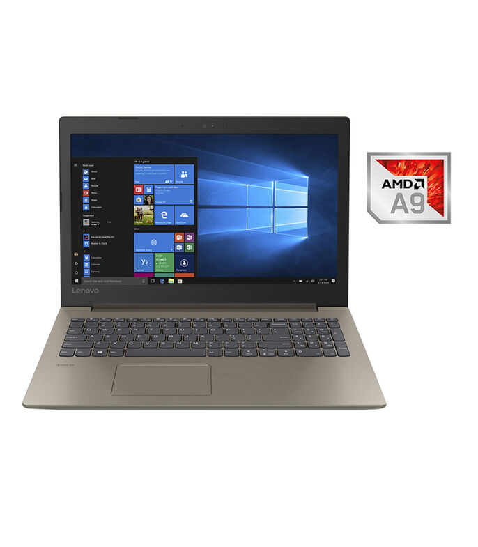 Laptop IdeaPad 330, 15.6', AMD Dual Core A9-9425, RAM 8 GB, DD 1 TB, Chocolate, , large