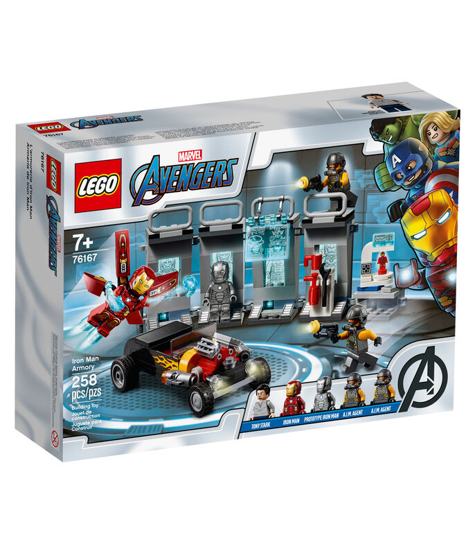 Lego Super Heroes, Armería de Iron Man, , large