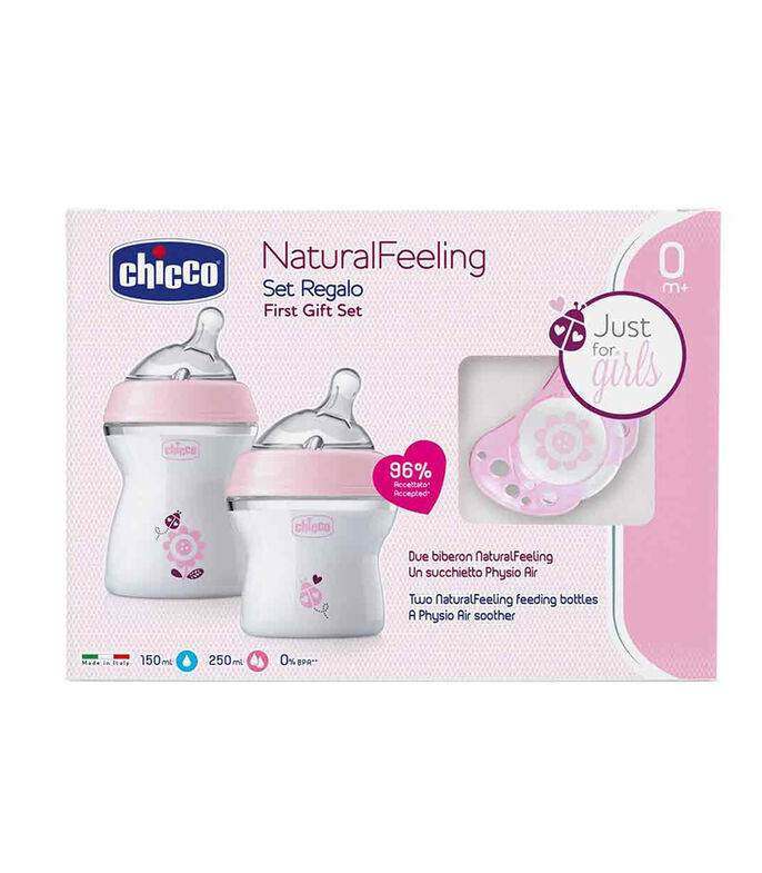 Set de Biberones Natural Feeling, , large
