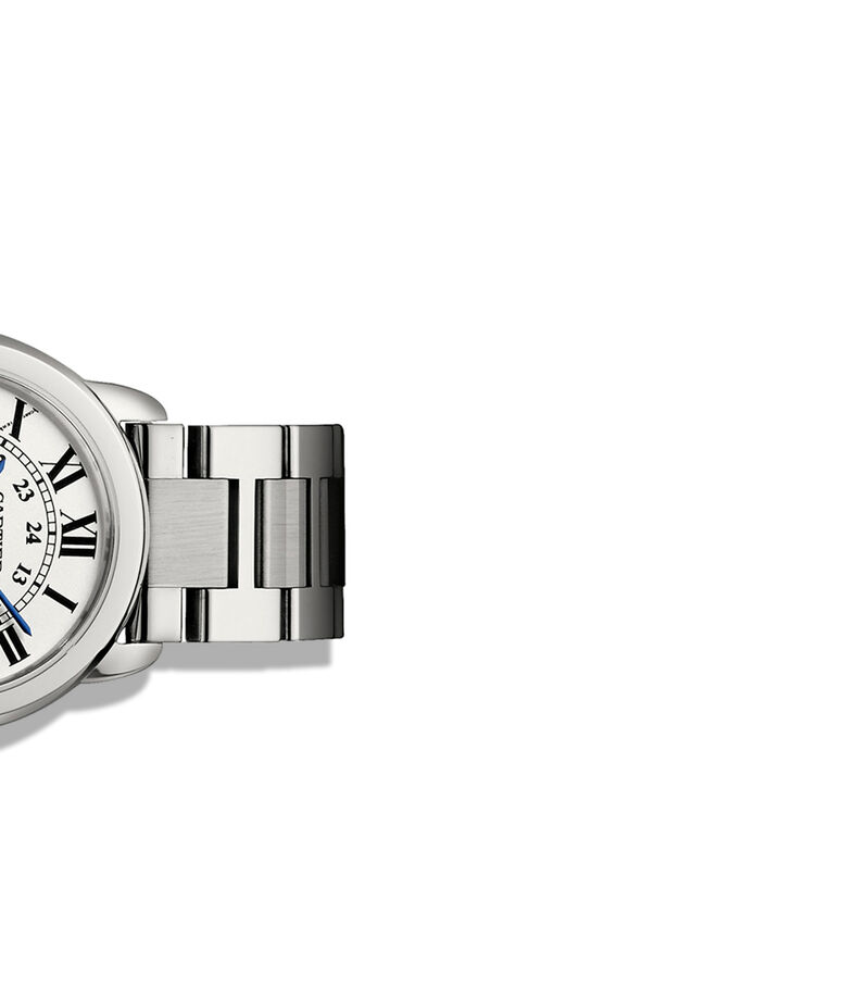 Reloj Ronde Solo de Cartier 29 MM, Acero, , editorial