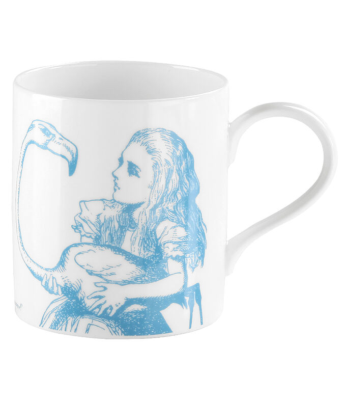 Taza Alicia blanca, , large