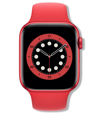 Apple Watch Series 6 GPS (PRODUCT RED), 44 mm Rojo, , large