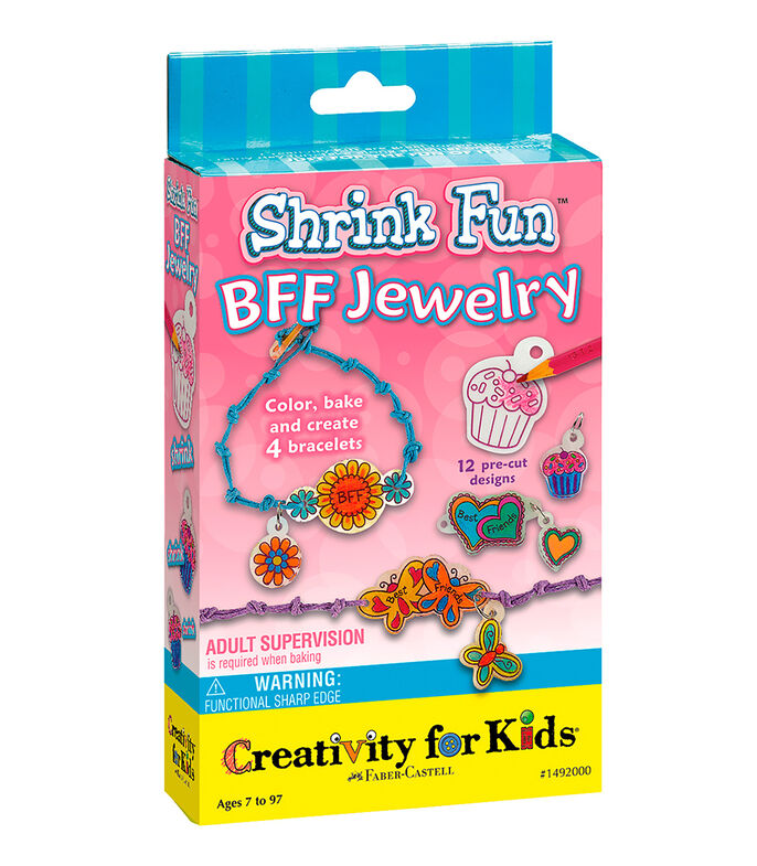 Time Out Shrinky Dinks Bff Jewelry, , large