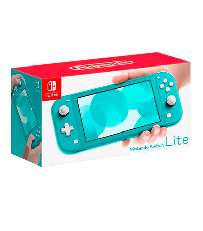 Consola Nintendo Switch Lite 32 GB Turquesa, , large