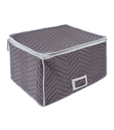 Caja Guarda Copas gris, , large