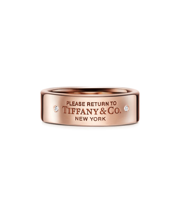 Tiffany & Co. Anillo Return to Tiffany de ID ovalado Mujer, , large