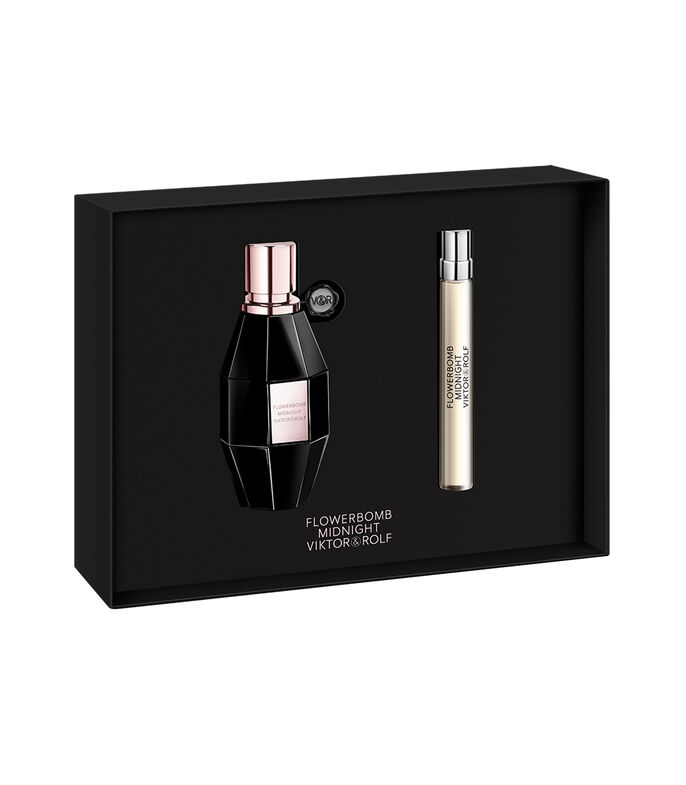 Set Flowerbomb Midnight Mujer, , large