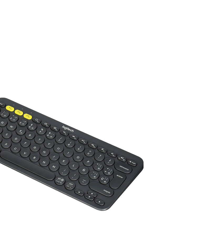 Logitech Teclado Bluetooth K380 Multi-dispositivos Negro, , editorial