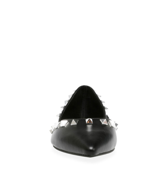 Steve Madden Flats con estoperoles Mujer, NEGRO, large