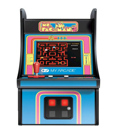 Mini Consola Retro Modelo MS. PACMAN Micro Player, , large