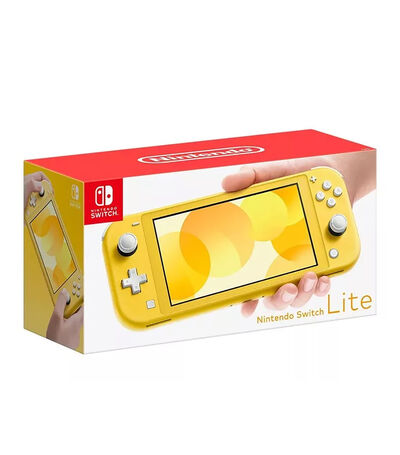 Consola Nintendo Switch Lite 32 GB Amarilla, , large
