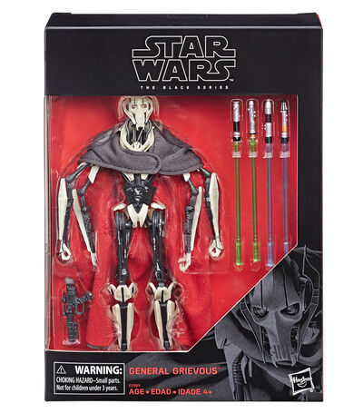 Figura General Grievous Star Wars The Black Series, , large
