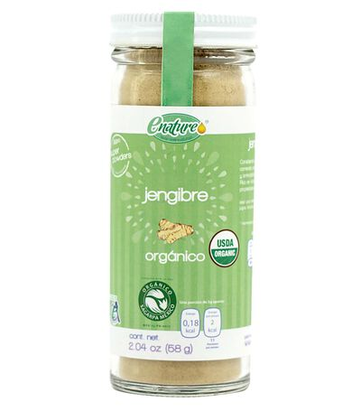 Jengibre Orgánico Super Powders, 58 gr, , large