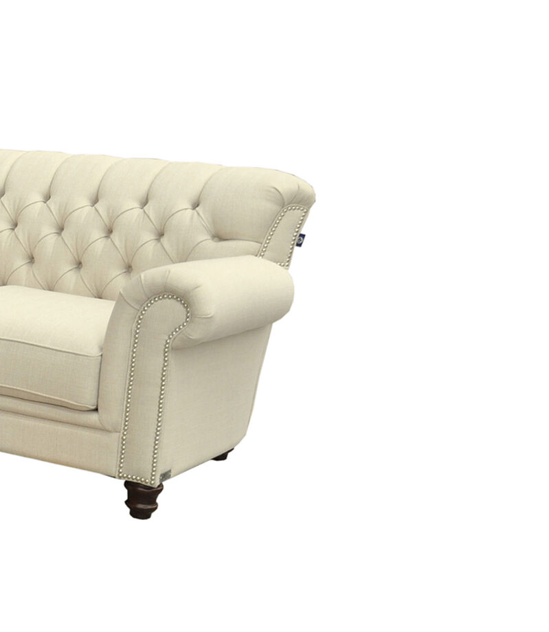 Love Seat Hudson Tela Beige, , editorial