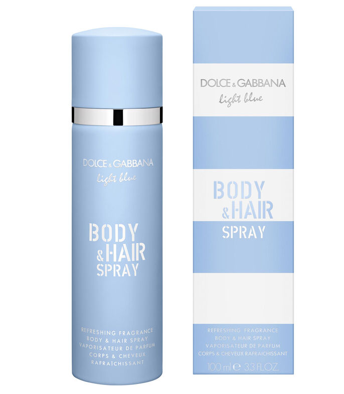 Body & Hair Mist, Light Blue, 100 ml, , large