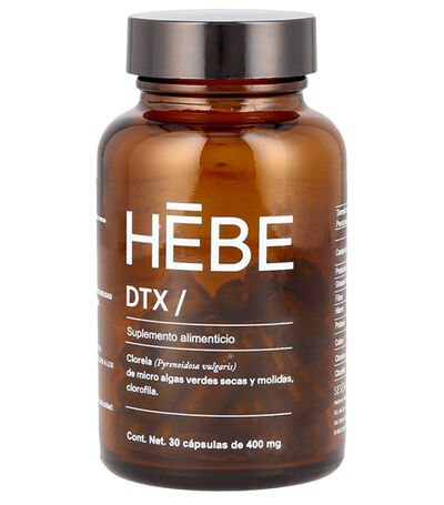 Suplemento Alimenticio, Hebe DTX, 400 mg, , large