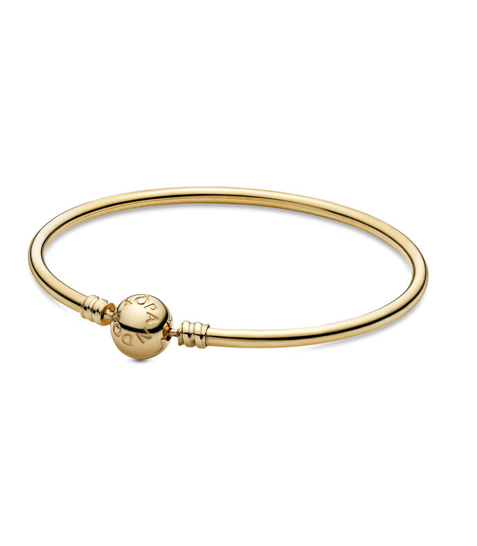 Brazalete en oro de 14 Kts Gold Bangle Unisex, , large
