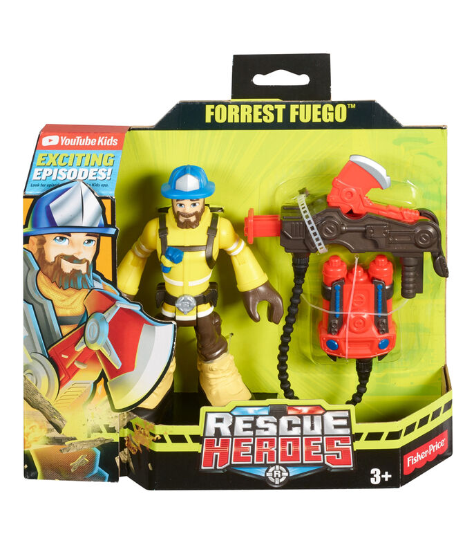 Rescue Heroes, Forrest Fuego, , large