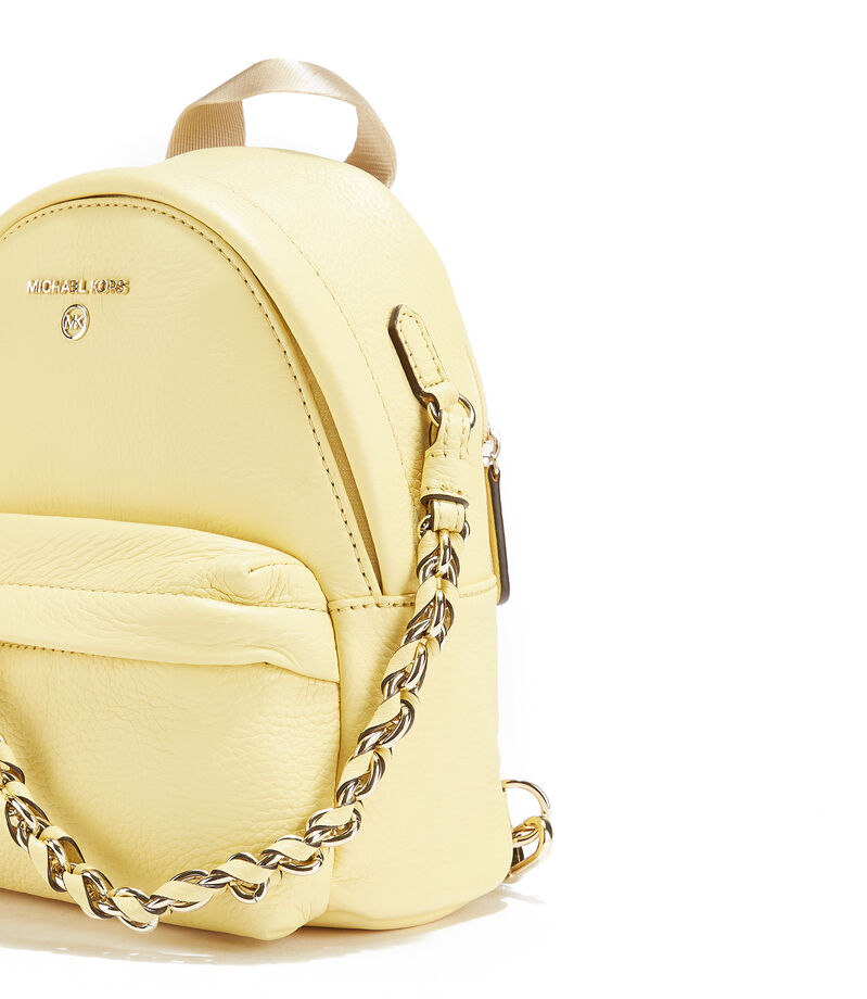 Bolso backpack, AMARILLO, editorial