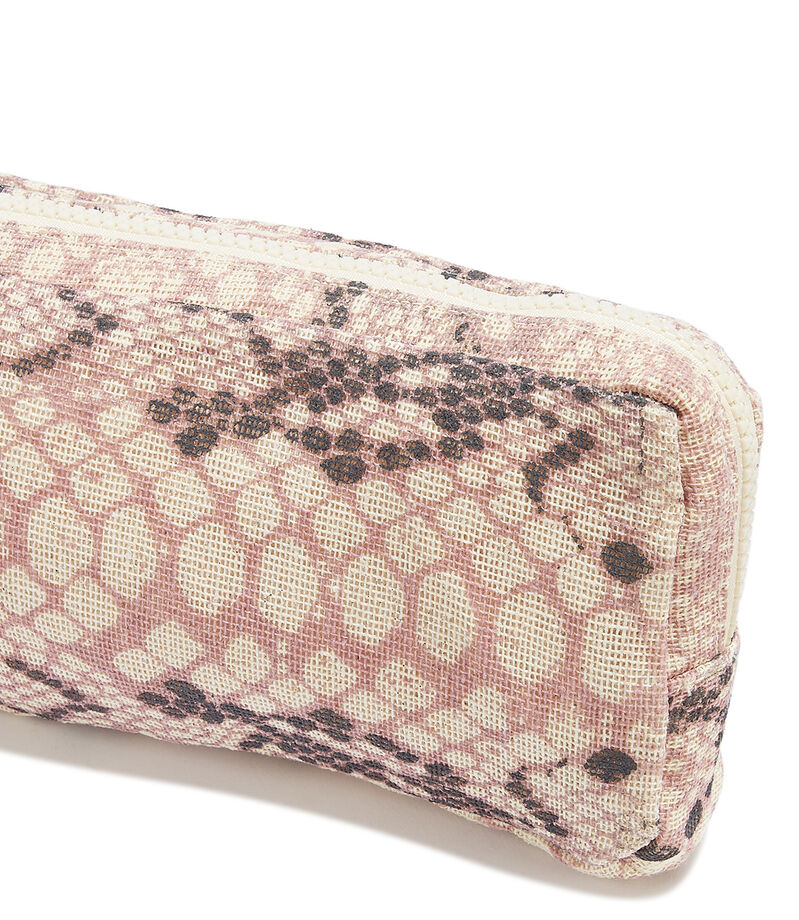 Bolso clutch con animal skin, , editorial