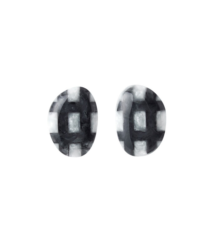 Adolfo Dominguez Aretes Mujer, GRIS, large