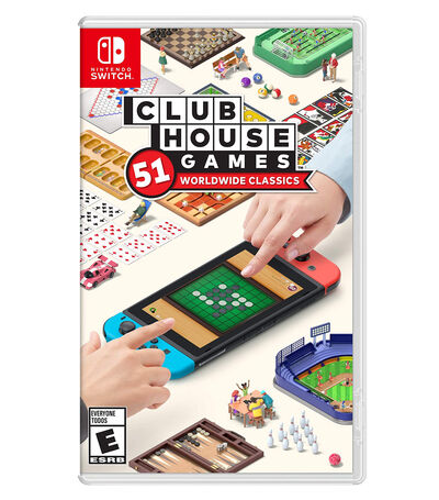 Clubhouse Games: 51 Worldwide Classics Nintendo Switch, , large