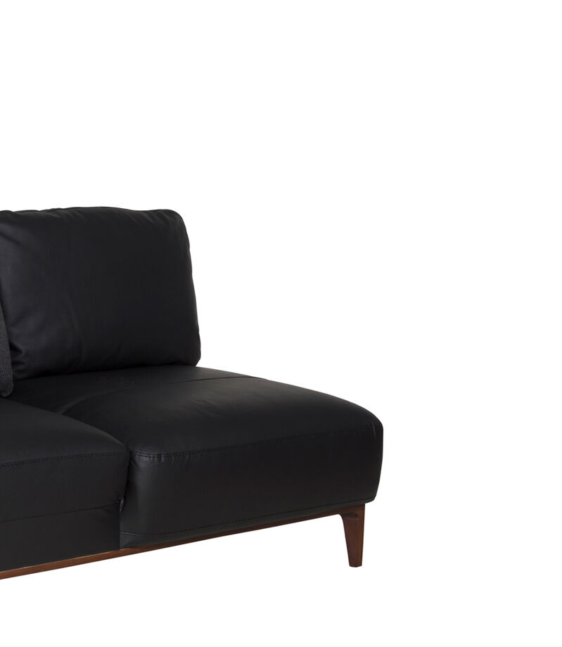 Chaise Lounge Derecho Shell negro, , editorial