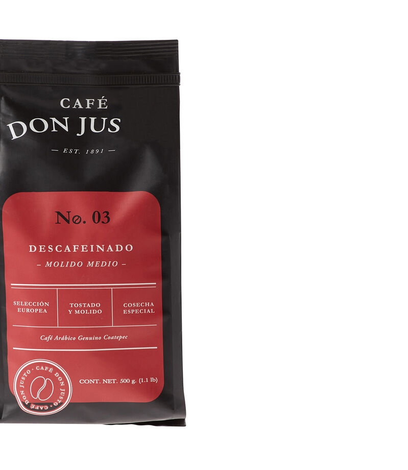 Don Justo Café Descafeinado, 500 g, , editorial