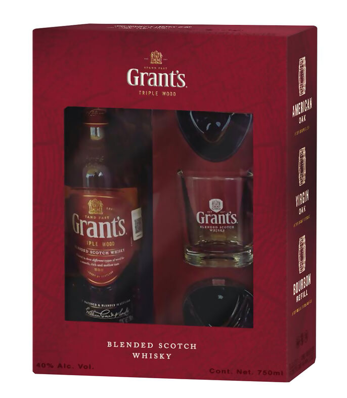 Whisky Grant's Triple W, 750 ml, , large