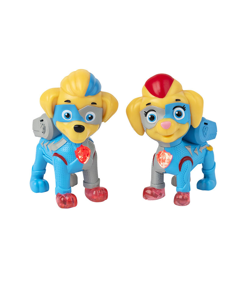 Spin Master Figura Paw Patrol Mighty Twins, , editorial