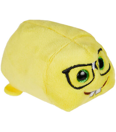 Peluche Dork Nerd Face Yellow, , large