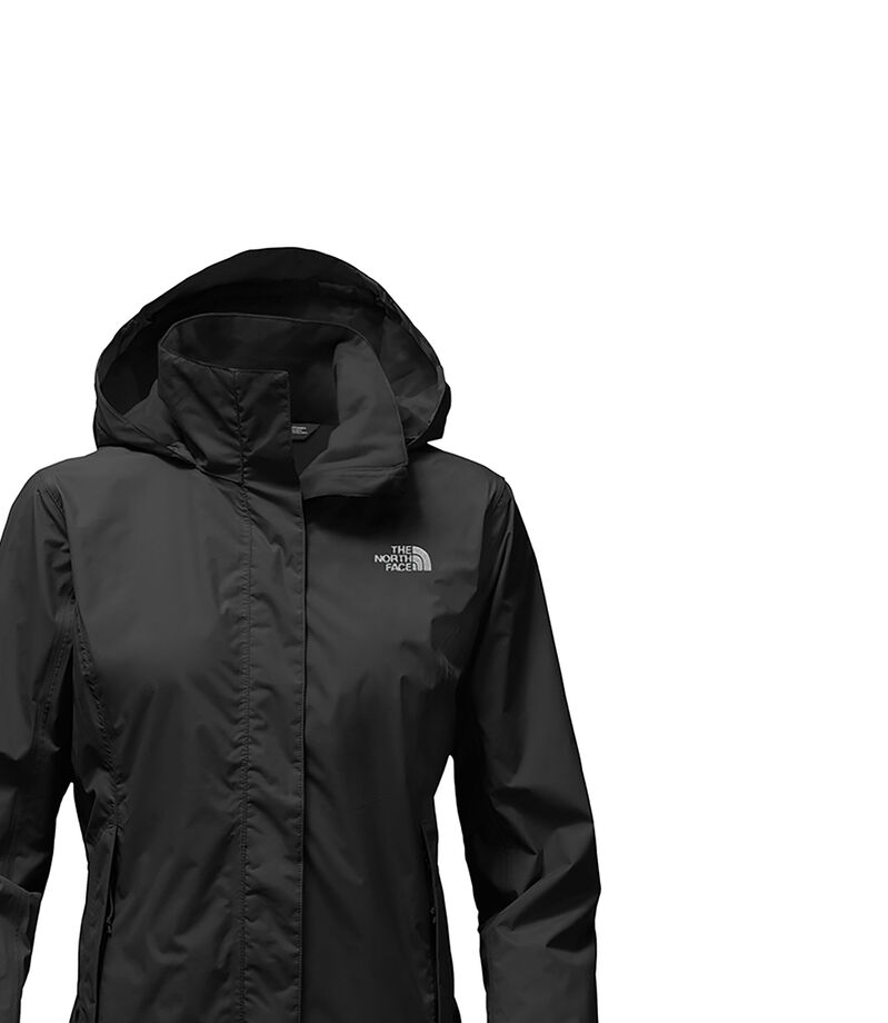 The North Face Chamarra Resolve Mujer, NEGRO, editorial