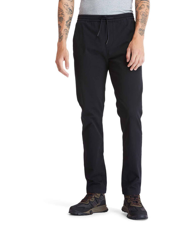 Jeans Regular Hombre, NEGRO, large