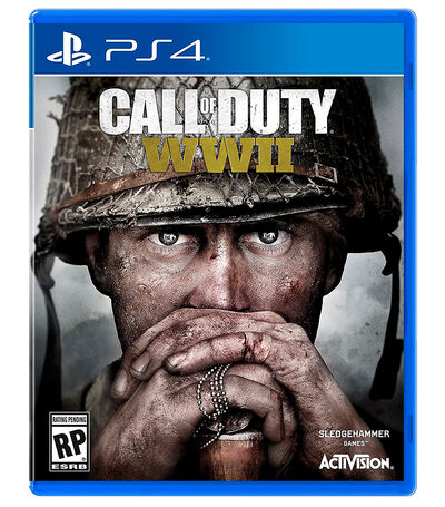 Call of Duty World War 2 PS4, , large