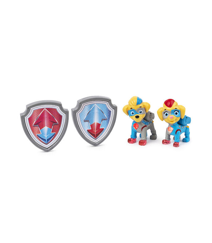 Spin Master Figura Paw Patrol Mighty Twins, , large